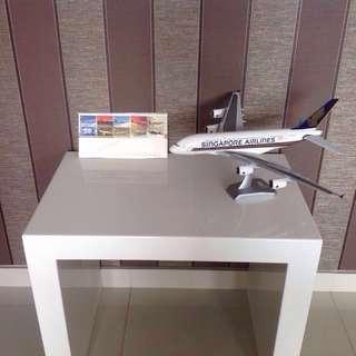 Aeroplane Stamps & A380 Figurine