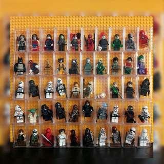 Minifigs with Acrylic Box (starwars)