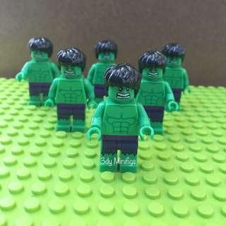 Minifigs Hulk (avengers)