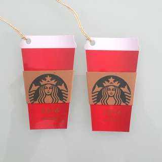 Starbucks 2016 Edition Cards