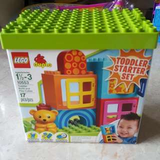 LEGO DUPLO Toddler Build and Play Cubes 10553 (1-3 YO)