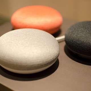 Brand New Google Home Mini 藍牙智能喇叭