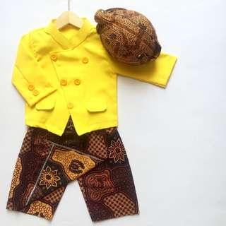 Boys Batik Set
