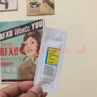 COSRX LOW PH GOOD MORNING GEL CLEANSER SAMPLE SACHET