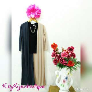 Rizka Two Tone Long Outer
