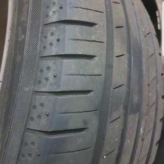 """16"""" Stock Honda Rims + Yokohama BluEarth Tyres"""