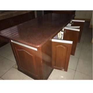 Kitchen Granite Center Table