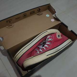 CONVERSE RED edition serial number 1w919 ORIGINAL