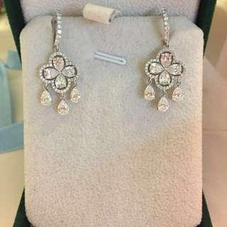 Adler diamond earrings