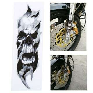 Stickers for motorbike