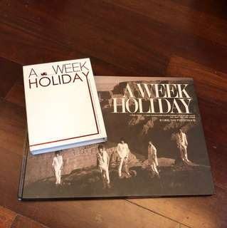 A week holiday (tvxq)