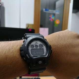 Genuine G Shock Supra Black Edition