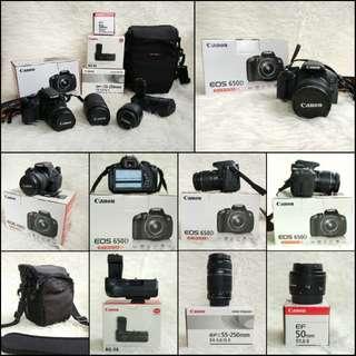 Kamera DSLR Canon EOS 650D