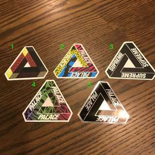 [INSTOCK] Palace stickers