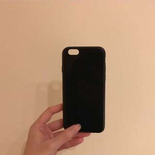Black Silicon iPhone 6/6s Case