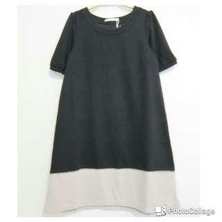 🚚 蝴蝶結黑❌米連身裙