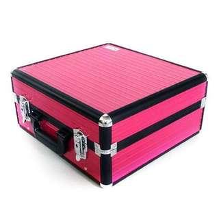 Suesh Makeup Case / Portable Pink Vanity case