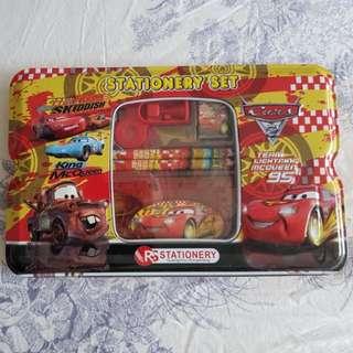 CARS stationery set