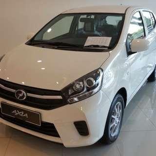 Perodua Axia Rebate RM888