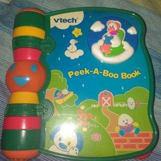 Vtech Peek-a -boo Music Book