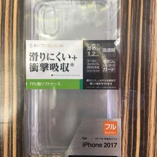 apple iphone X  tpu soft 透明case 1.2mm  #9 日本直送 新品