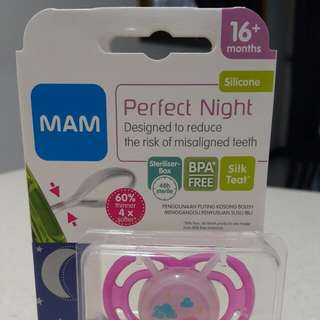 MAM Perfect Night Baby Pacifier 16+ months