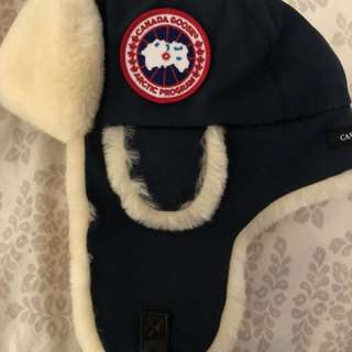 Canada Goose navy pilot hat