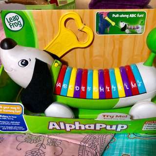 Leap Frog Alpha Pup Pull Along ABC