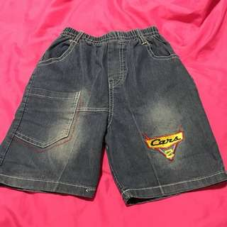 Cars shorts pants