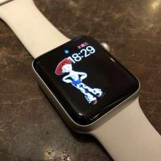 Apple watch series 2 42mm 銀白 95% new