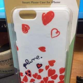 心形花花 iPhone 6 保護套 日本製造