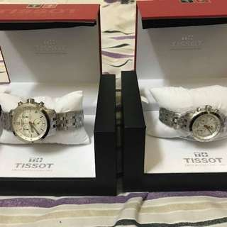 His & Hers Tissot PRC 200 Chronograph 200 NBA Special Edition