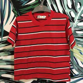 Red Stripes Tshirt