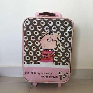 Charlie and Lola kids luggage