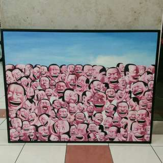 Oil Painting Canvas with frame L103x79cm