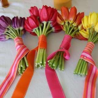 Tulips Bouquet for all occasions! (Prices starts from $80 with delivery & customisation)