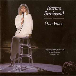Barbra Streisand ‎One Voice cd