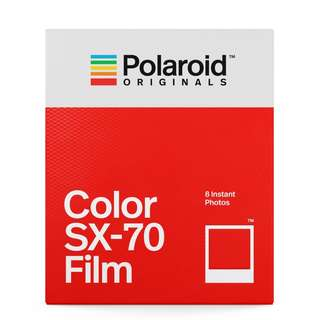 POLAROID ORIGINALS COLOR FILM FOR SX70