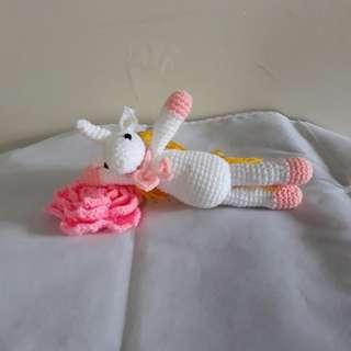 Amigurumi Rapunzel Unicorn