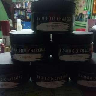 Bamboo charcoal facial mask & teeth whitening