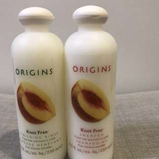 Origins Knot Free Shampoo and Conditioner