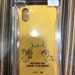 apple iphone X 保護case 軟 disney 黃色  #12 日本直送 新品