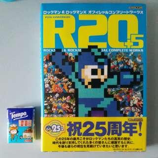 Rockman 洛克人25週年記念書 R20+5