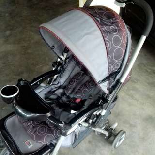 Sweet Cherry Baby Stroller Free Baby Car Seat #july50