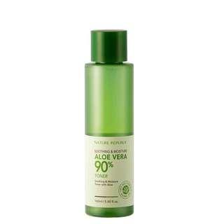 (SALE) Nature Republic - Soothing & Moisture Aloe Vera 90% Toner