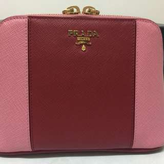 Prada mini clutch