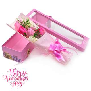 6 pcs Soap Flower Bouquet Gift for Valentines