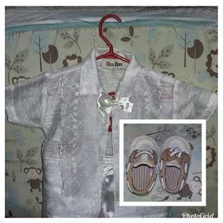 Christening sets and shoes