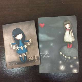 Small notebook and notepad