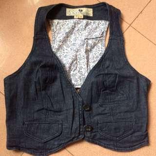 Maong vest